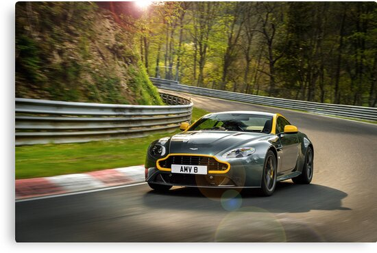 The New Aston Martin N430 Testing At The Nurburgring In Germany