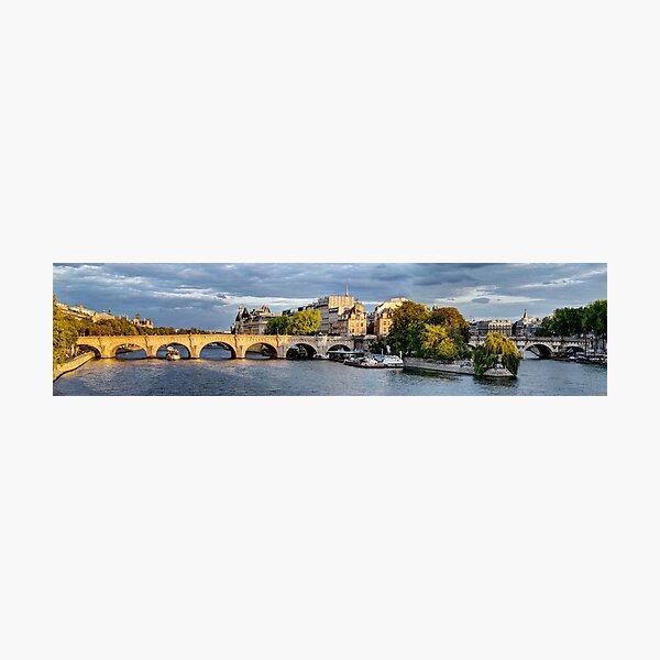 Pont Neuf Paris 01 Photographic Print