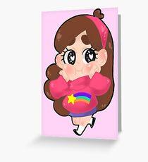 Gravity Falls    Mabel Greeting Card