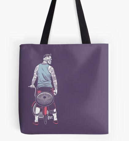 Low Ride Skull WithTattoo Tote Bag
