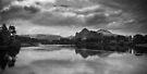Lake Waikato - NZ by Christine Wilson