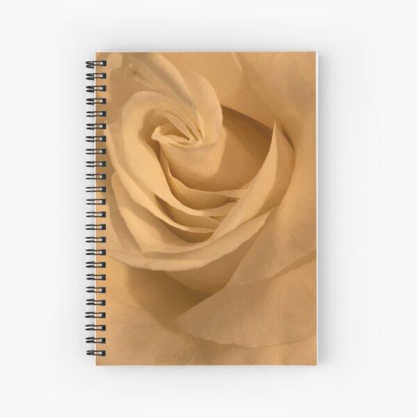 White Rose Splendor Spiral Notebook