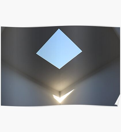 Skyspace - Floating Light Poster
