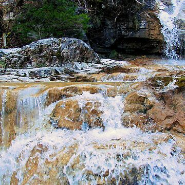 Water flowing over Rocks by MarkusTheLion