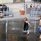 Water Park - Cincinnati Ohio 2014 by Tony Wilder