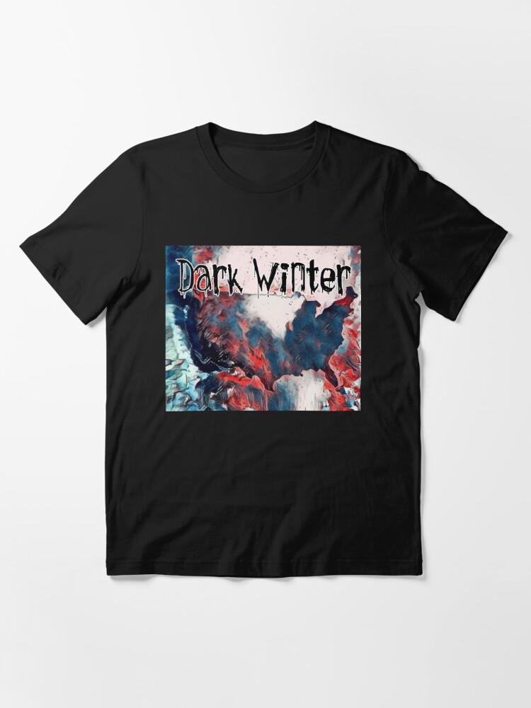 Alternate view of Dark Winter Essential T-Shirt