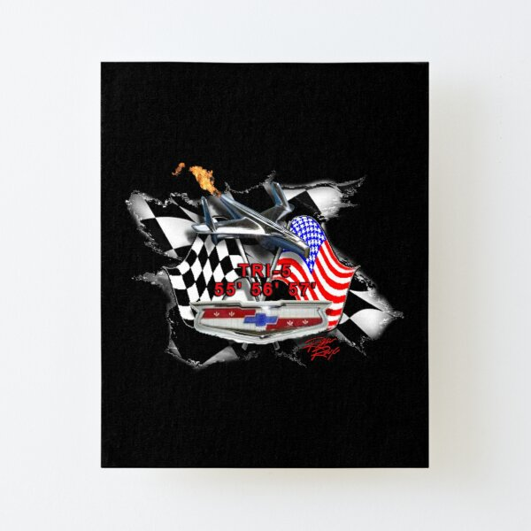 TRI-5 American History  Canvas Mounted Print