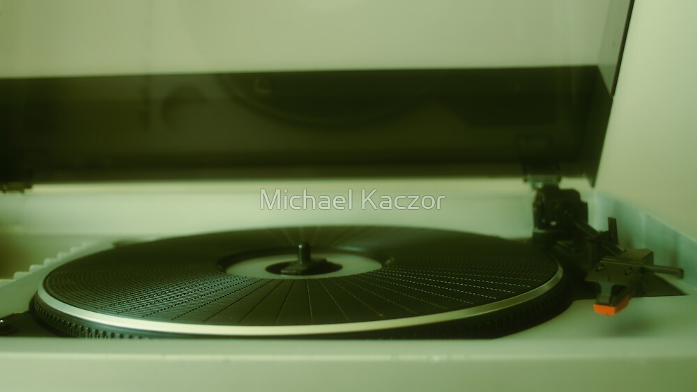 Vintage Record Player by Michael Kaczor