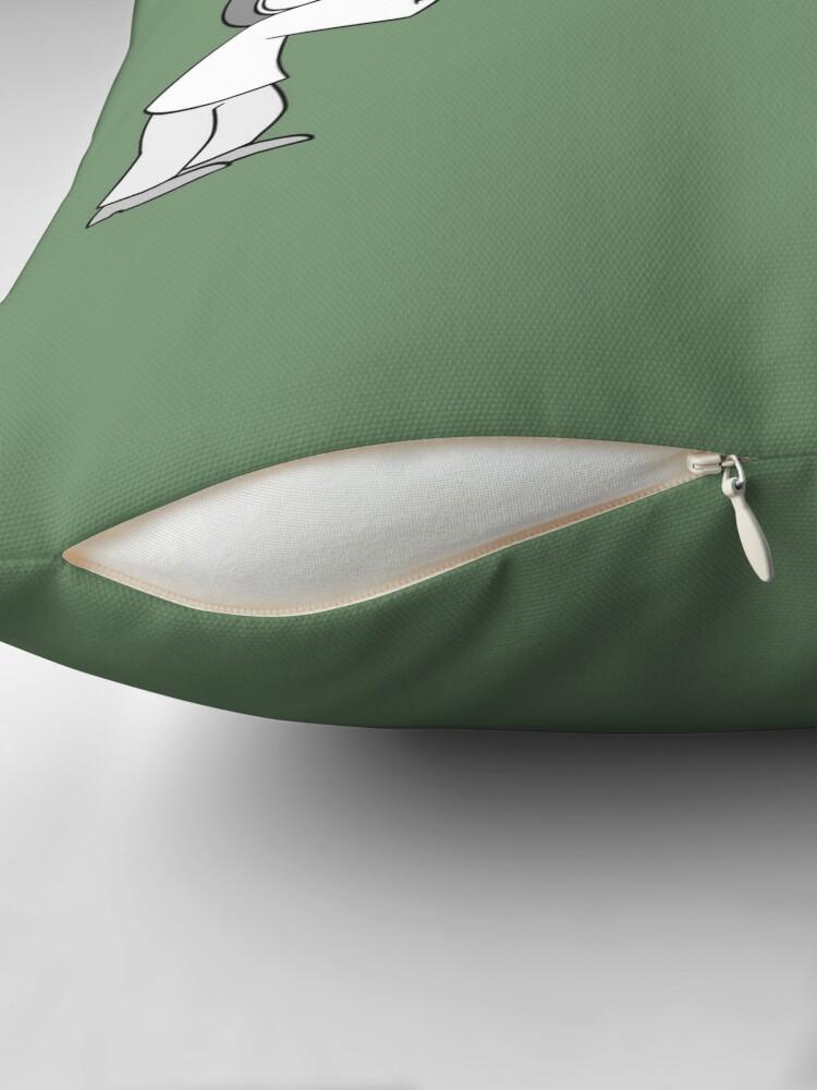 Alternate view of Hearts Throw Throw Pillow