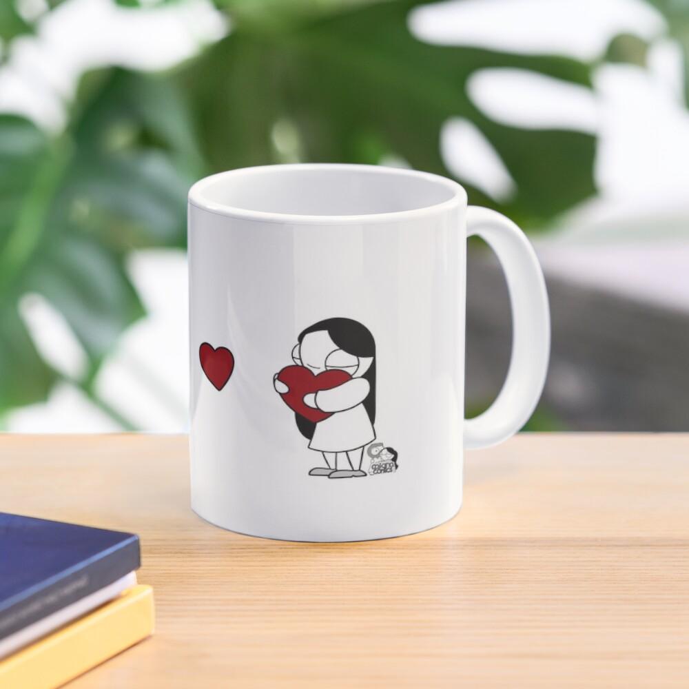 Hearts Throw Mug
