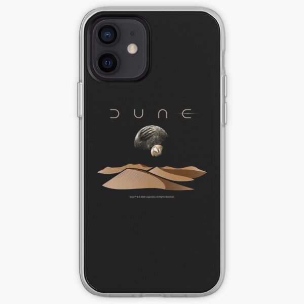 Dune Landscape with Moons of Arrakis iPhone Soft Case