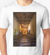 Mission San Juan Capistrano Chapel Vertical Painterly T-Shirt