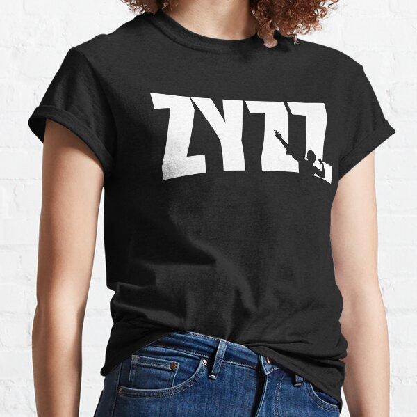 Zyzz Text White Classic T-Shirt