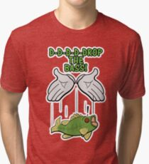 Drop The Bass Tri-blend T-Shirt