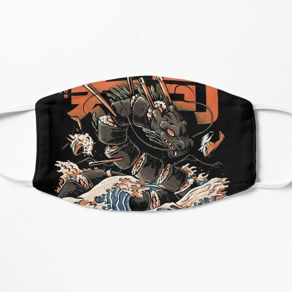 The Black Sushi Dragon Flat Mask