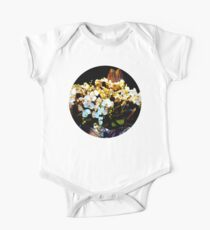 colorful and fragrant, Orchid flowers One Piece - Short Sleeve