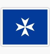 Flag of the Duchy of Amalfi, 958-1037 Sticker