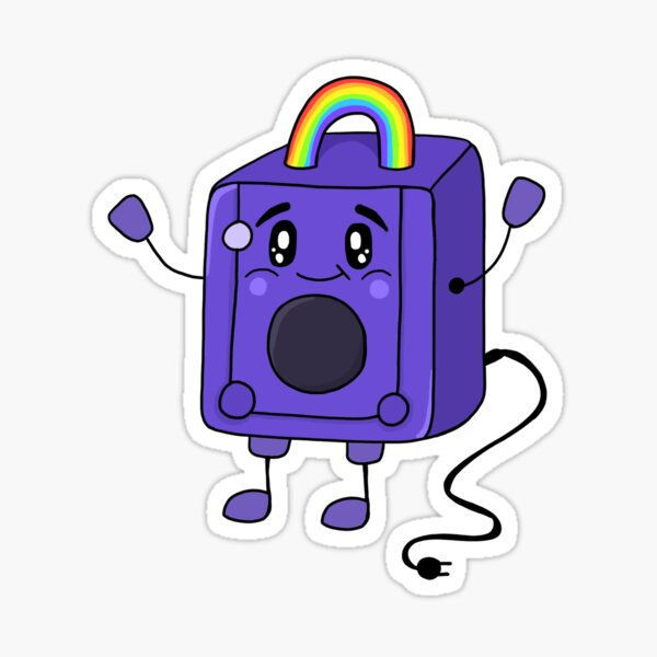 Gayme Cube - LGBTQ Pride - Video Games Sticker