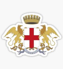 Coat of Arms of Genoa Sticker