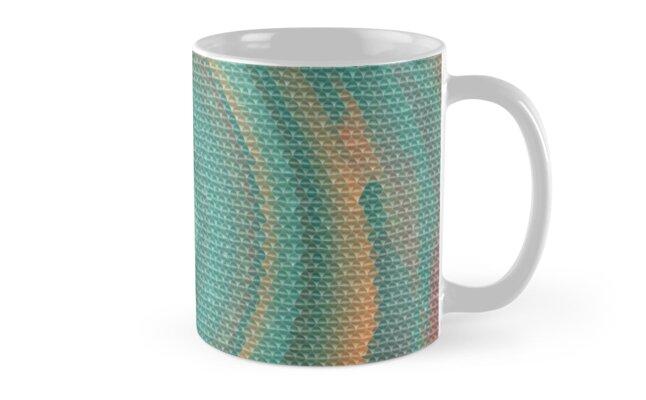 Black Maple Spiral Galaxy Mosaic by BeaverHeaven