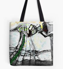 Snow Scene in The Country Tote Bag