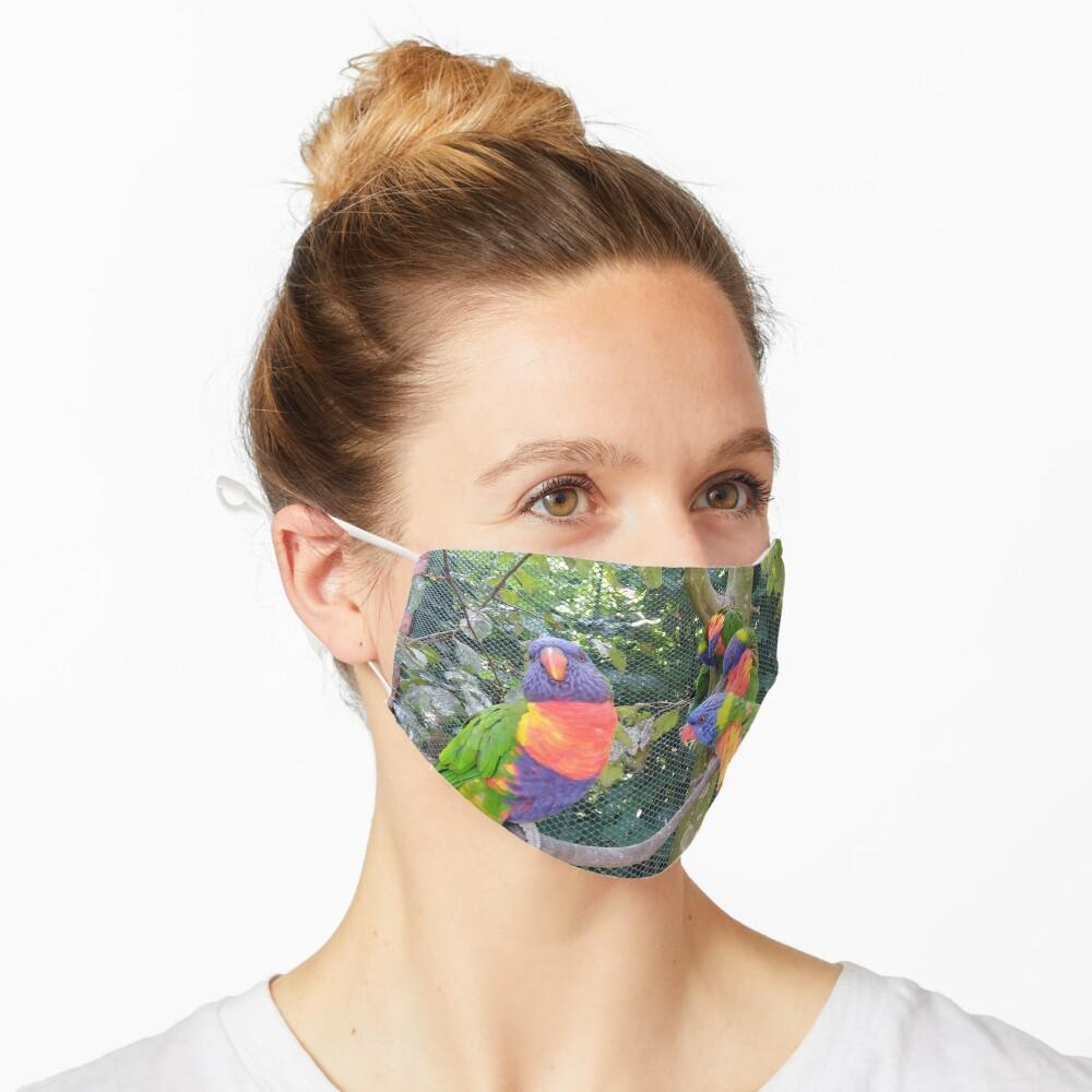Schar von Keas Maske