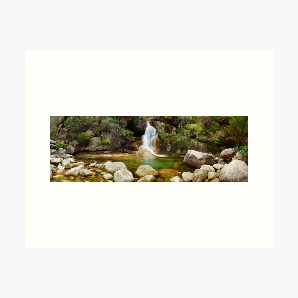 Ladies Bath Falls, Mount Buffalo, Victoria, Australia Art Print
