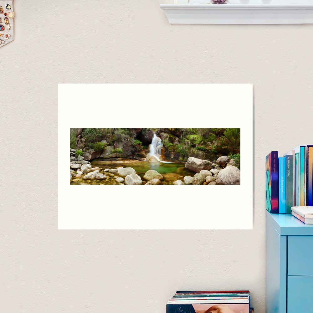 Ladies Bath Falls, Mount Buffalo, Victoria, Australia Art Print