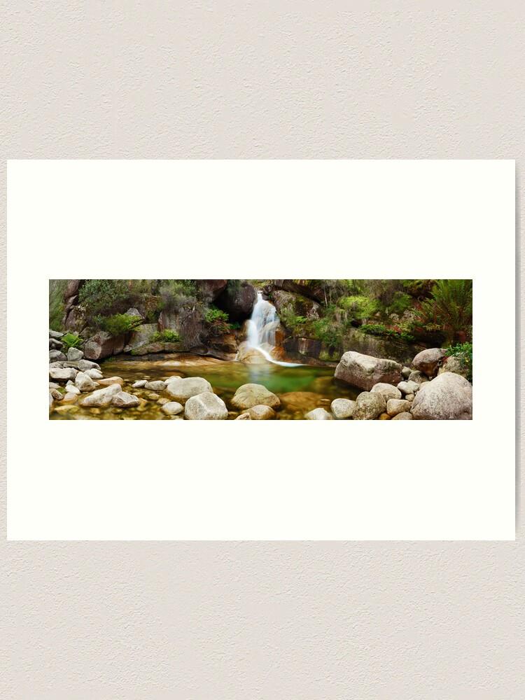 Alternate view of Ladies Bath Falls, Mount Buffalo, Victoria, Australia Art Print
