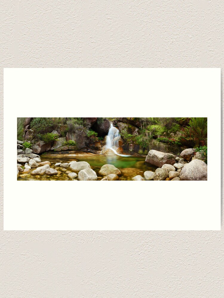 Alternate view of Ladies Bath Falls, Mount Buffalo, Victoria, Australia Art Print