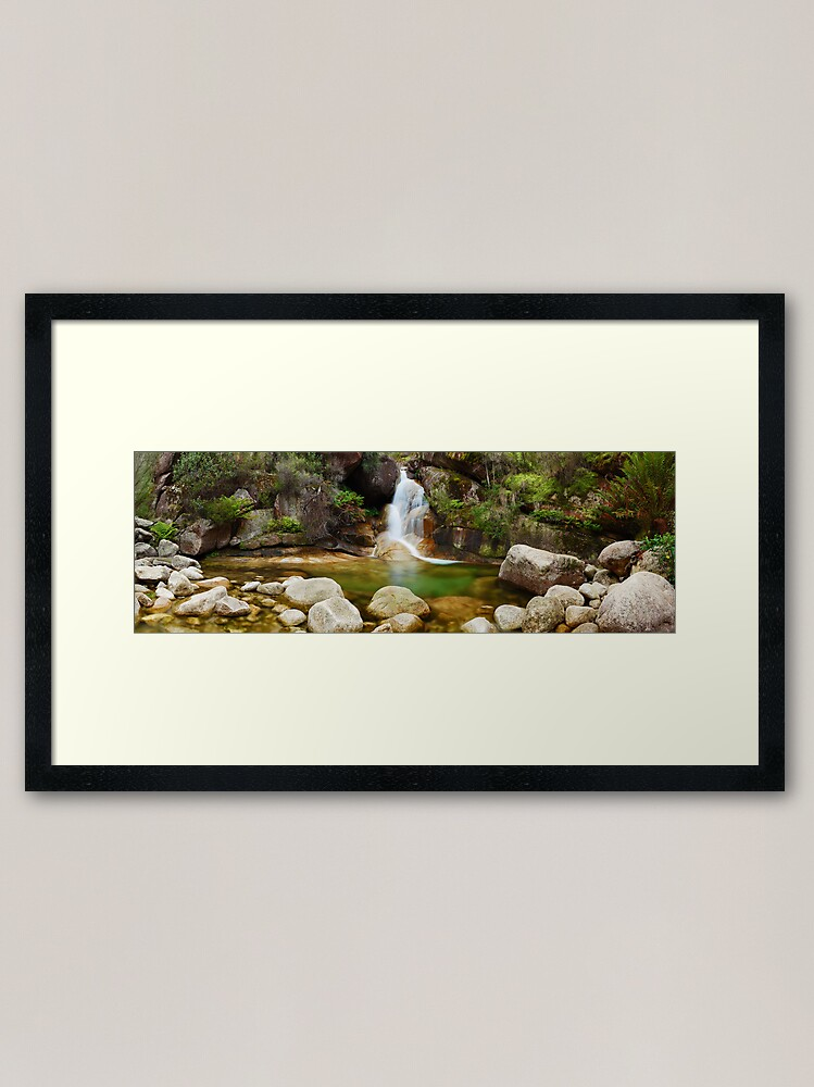 Alternate view of Ladies Bath Falls, Mount Buffalo, Victoria, Australia Framed Art Print