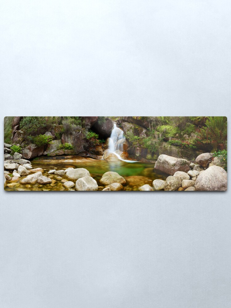 Alternate view of Ladies Bath Falls, Mount Buffalo, Victoria, Australia Metal Print