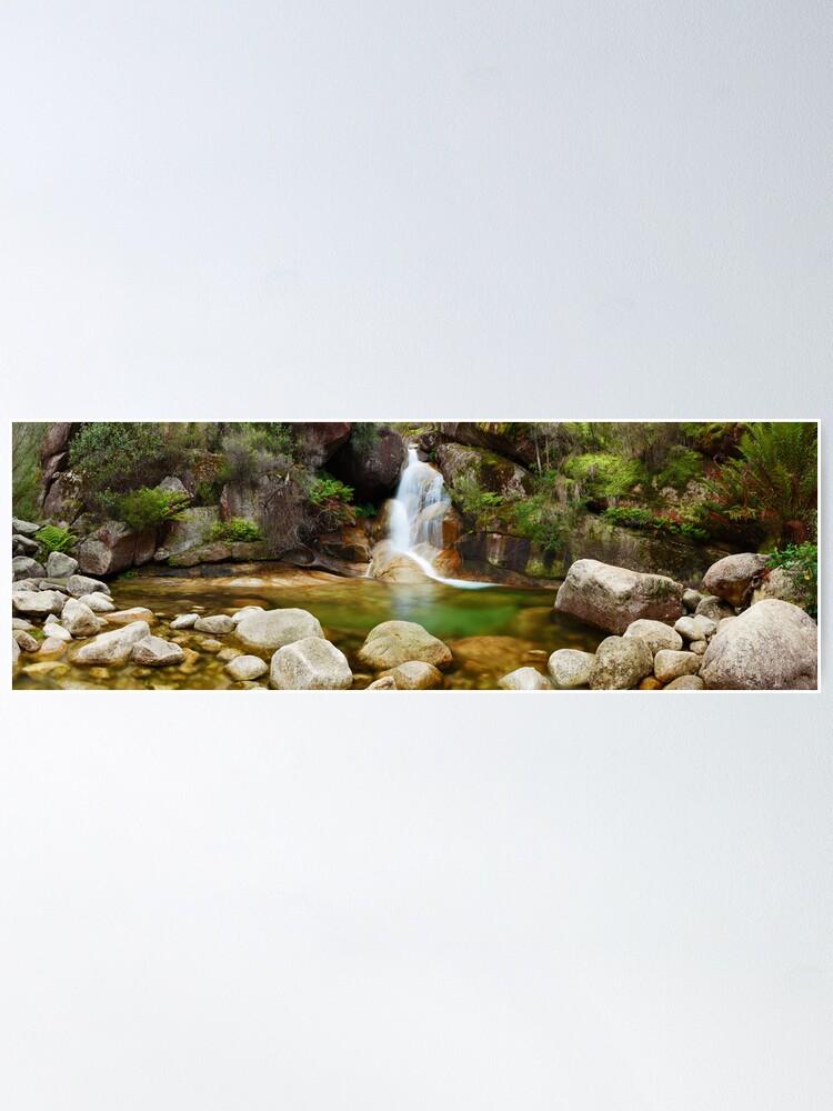 Alternate view of Ladies Bath Falls, Mount Buffalo, Victoria, Australia Poster
