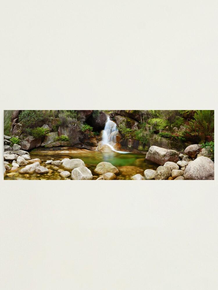 Alternate view of Ladies Bath Falls, Mount Buffalo, Victoria, Australia Photographic Print