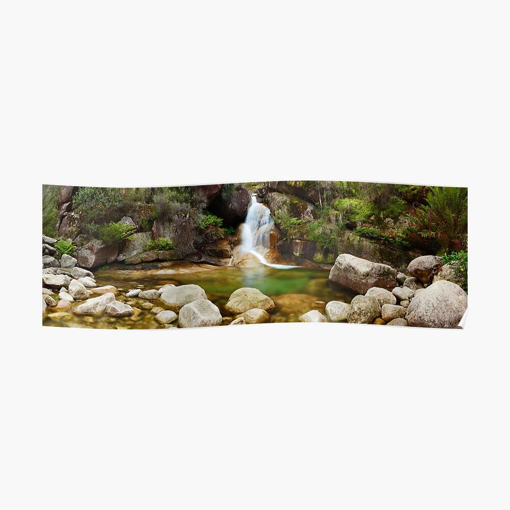 Ladies Bath Falls, Mount Buffalo, Victoria, Australia Poster