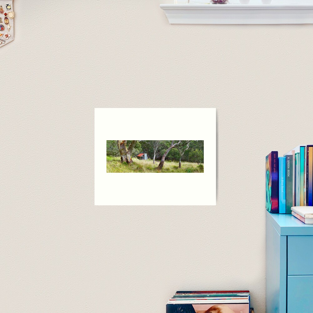 Millers Hut, Alpine National Park, Victoria, Australia Art Print