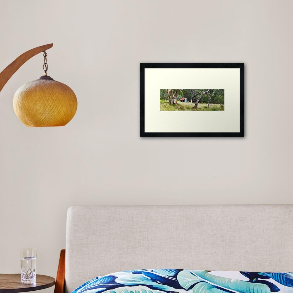 Millers Hut, Alpine National Park, Victoria, Australia Framed Art Print