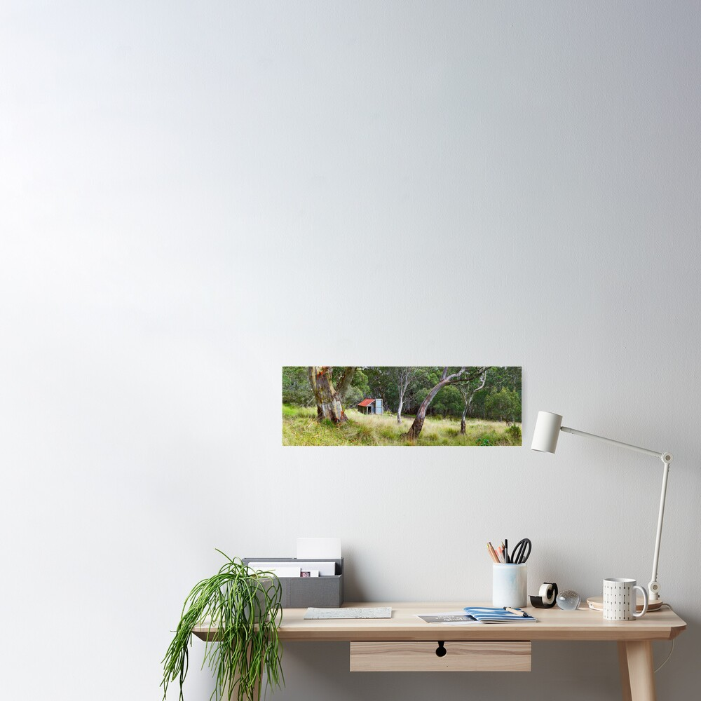 Millers Hut, Alpine National Park, Victoria, Australia Poster