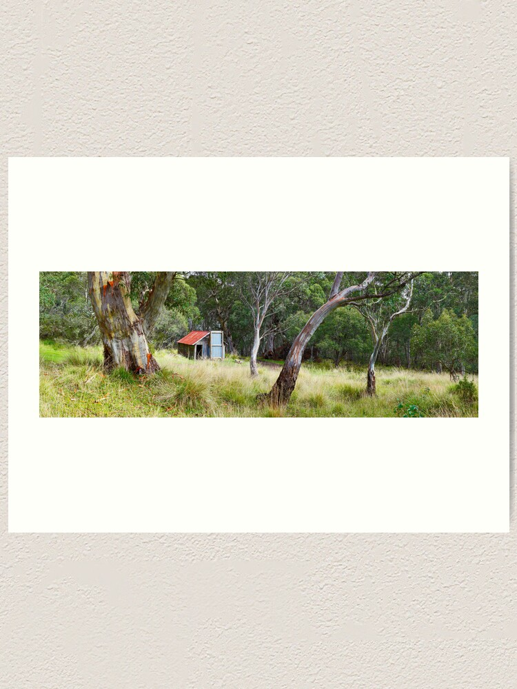 Alternate view of Millers Hut, Alpine National Park, Victoria, Australia Art Print