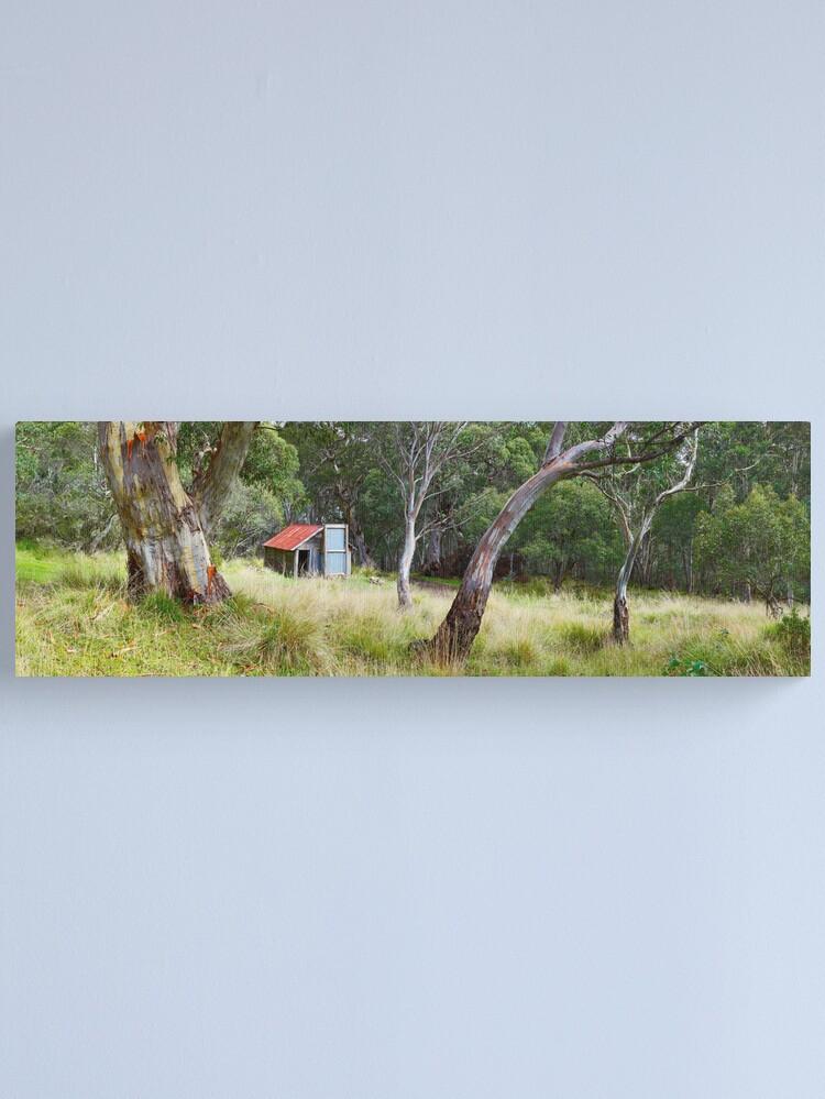 Alternate view of Millers Hut, Alpine National Park, Victoria, Australia Canvas Print