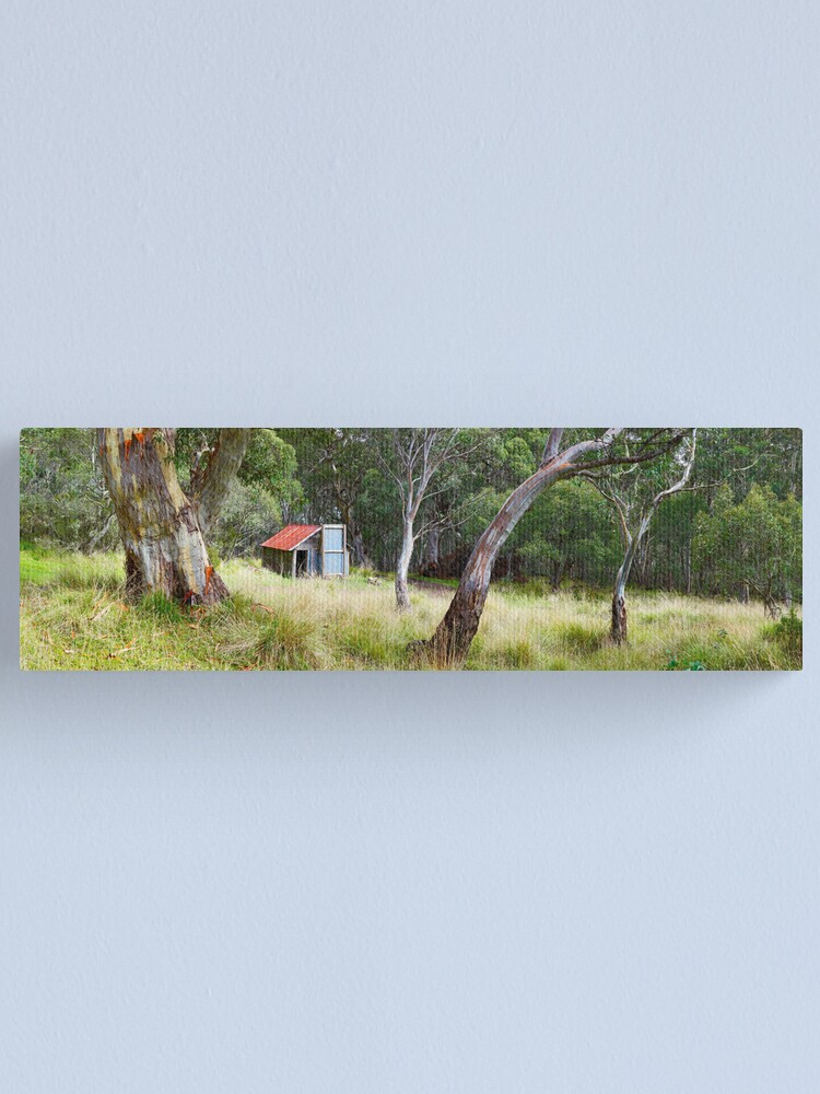 Alternate view of Millers Hut, Alpine National Park, Victoria, Australia Canvas Print