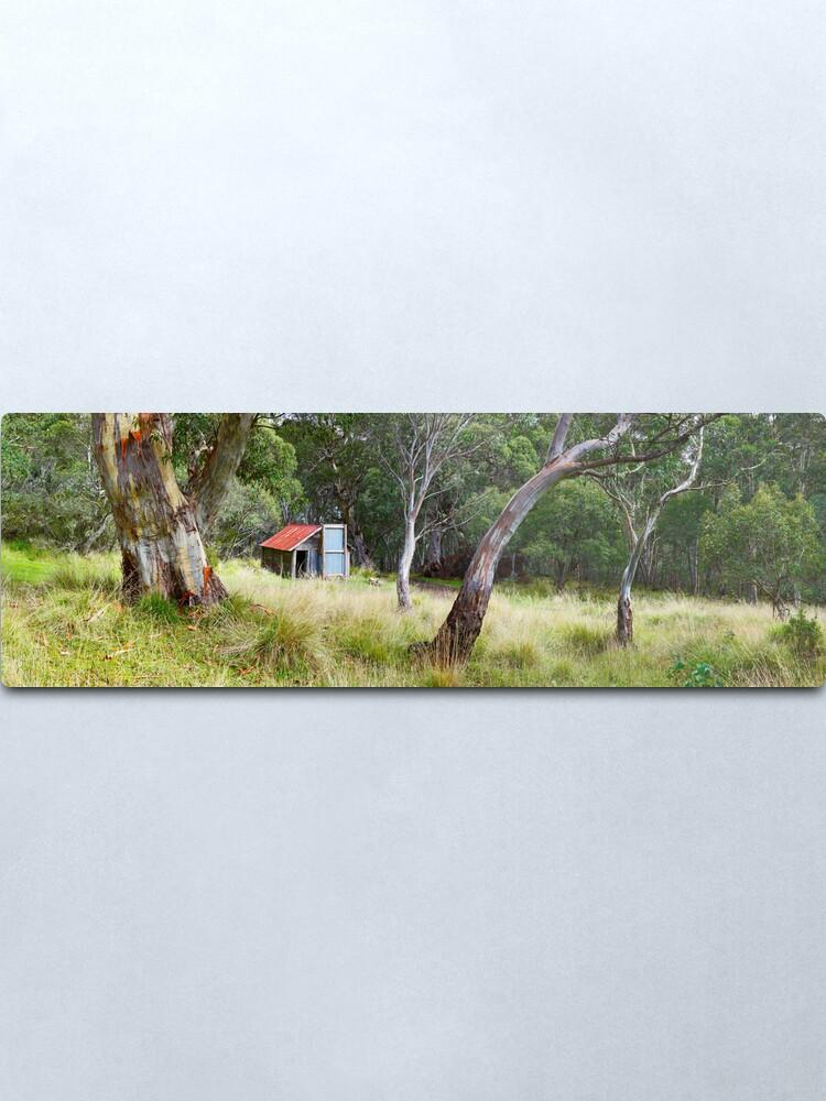Alternate view of Millers Hut, Alpine National Park, Victoria, Australia Metal Print