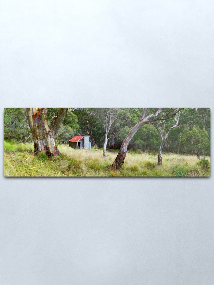 Alternate view of Millers Hut, Alpine National Park, Victoria, Australia Metal Print