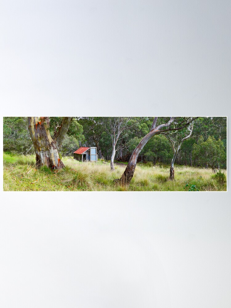 Alternate view of Millers Hut, Alpine National Park, Victoria, Australia Poster
