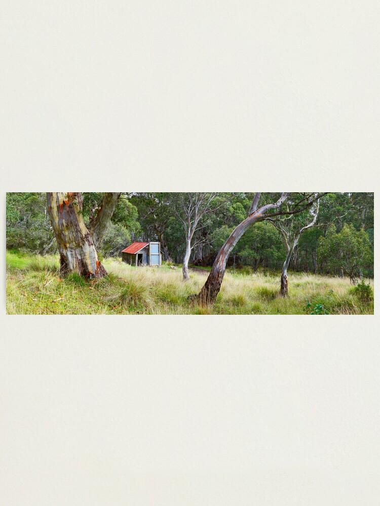 Alternate view of Millers Hut, Alpine National Park, Victoria, Australia Photographic Print