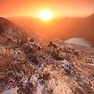 Cradle Mountain Sunrise Magic by Garth Smith