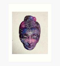 Female Buddha  Art Print