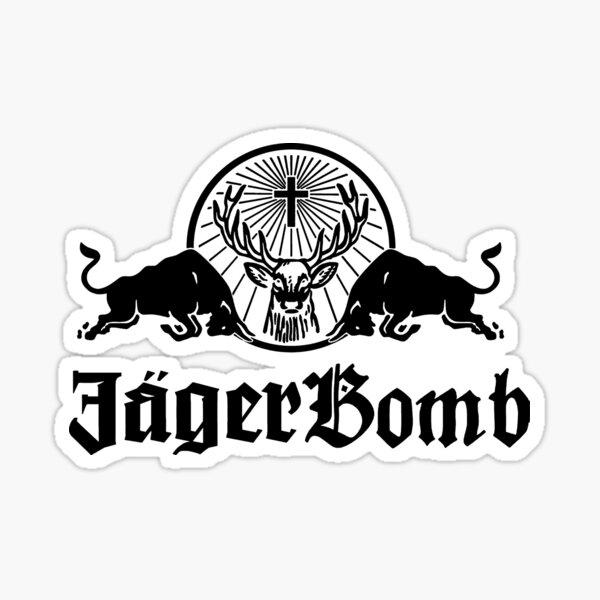 Jager Bomb Sticker
