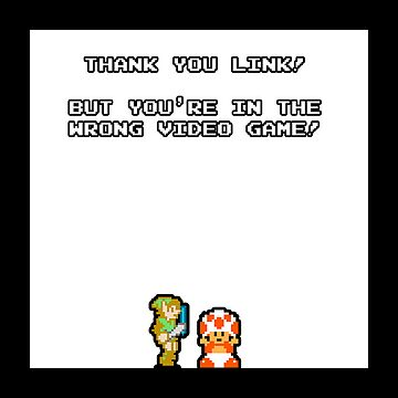 Zelda + Mario: Wrong game! by thieved
