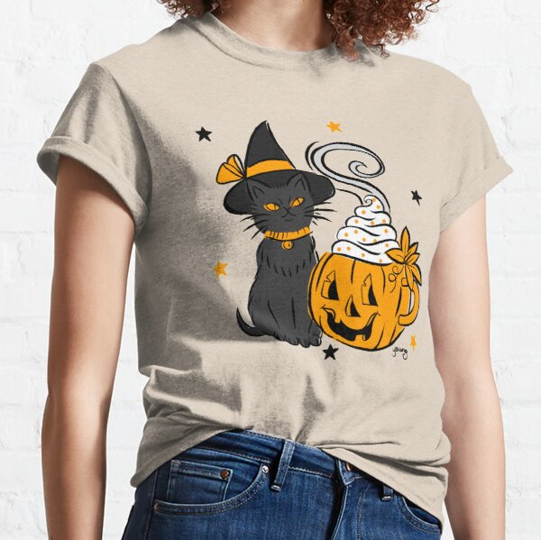 Pumpkin Spice Kitty Classic T-Shirt